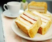 黃金起酥三明治